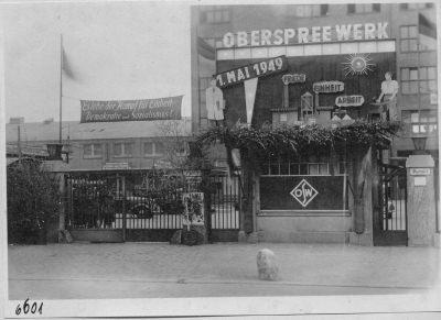 Eingangsbereich HF; Foto, 1949