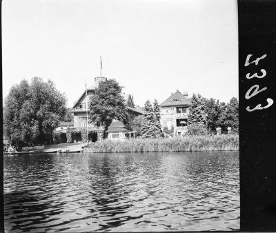 Clubhaus Friedrichshagen vom Müggelsee aus, Bild 2; Foto, 1949