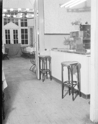 Clubhaus Friedrichshagen, Innenansicht, Bild 1; Foto, 1949