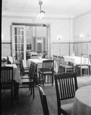 Clubhaus Friedrichshagen, Innenansicht, Bild 2; Foto, 1949