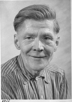 Georg Bark; Foto, 1952