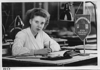 Bester Lehrling des Lernaktivs; Foto, 1951