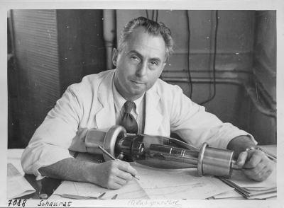 Portrait Herbert Schaurat; Foto, 1952