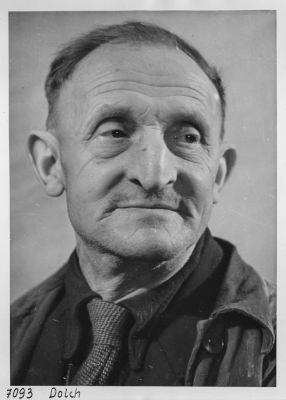 Portrait Paul Dolch; Foto, 1952