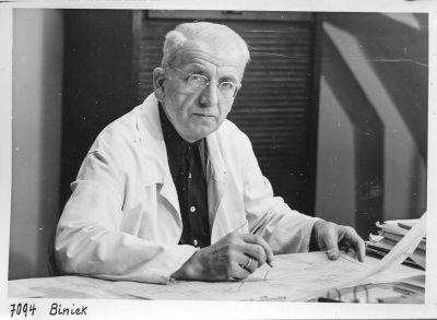 Portrait Georg Biniek; Foto, 1951