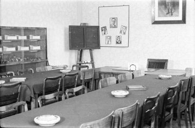 Sitzungsraum, Bild 1; Foto, 1952
