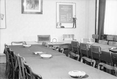 Sitzungsraum, Bild 2; Foto, 1952
