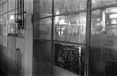 Schmutzige Fenster; Foto, 1953