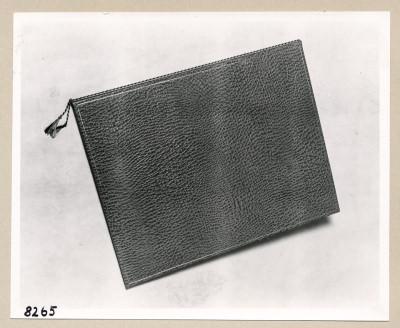 Album Geburtstag Walter Ulbricht, geschlossen; Foto, 1953