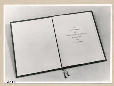 Album Geburtstag Walter Ulbricht, 4. Seite; Foto, 1953
