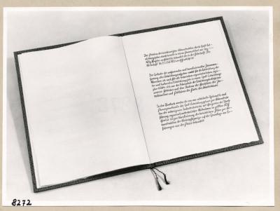 Album Geburtstag Walter Ulbricht, 6. Seite; Foto, 1953