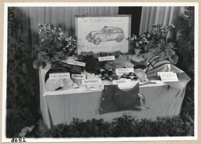 Ausstellung (Unfallverhütung), Bild 3; Foto, 1953
