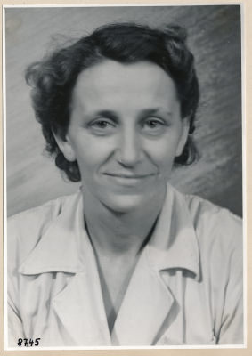 Frau Heinze, Portrait; Foto, 1953