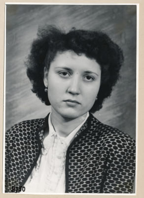 Frau Kehn, Portrait; Foto, 1953