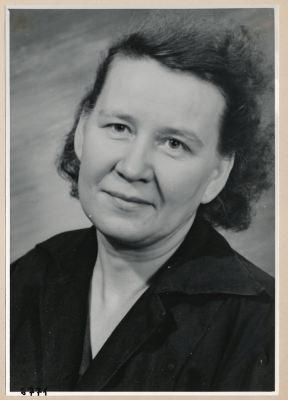 Inge Wels, Portrait; Foto, 1953