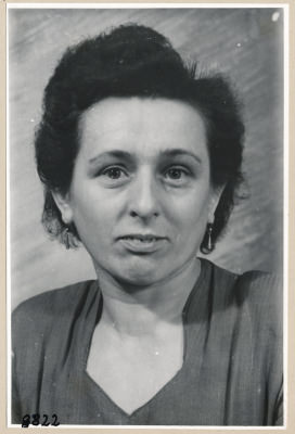 Frau Neumann, Portrait; Foto, 1953