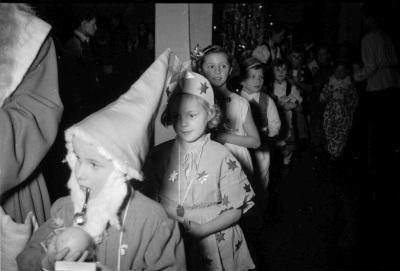 Kinderweihnachtsfest – Kinderreihe, Foto, Dezember 1954
