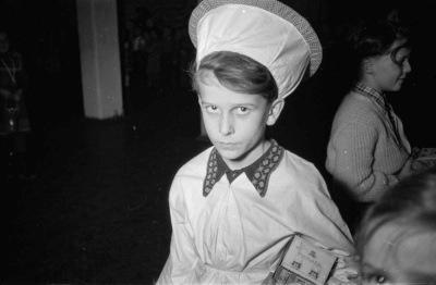 Kinderweihnachtsfest – Kochkostüm, Foto 1954