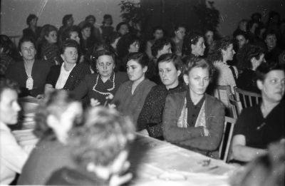 Frauenkonferenz, Bild 3; Foto, 1954