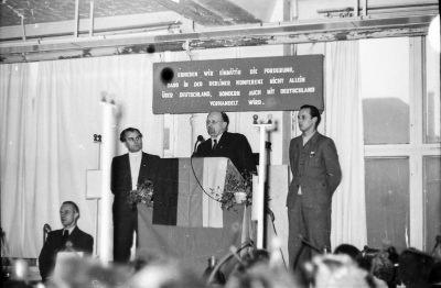 Besuch Ulbrichts, Bild 1; Foto, 1954