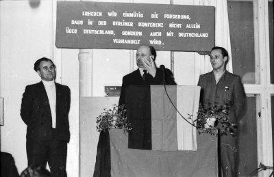 Besuch Ulbrichts, Bild 2; Foto, 1954