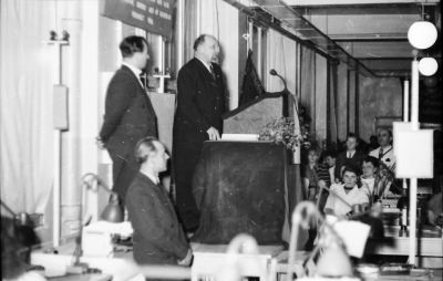 Besuch Ulbrichts, Bild 3; Foto, 1954
