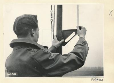 Normalfeld-Generator im Einsatz 10, Foto 1954