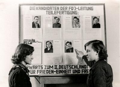 F.D.J. Kandidaten-Tafel, Foto 1954