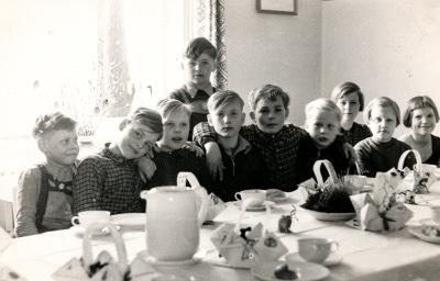 Osterfest im Kindergarten, Foto 1954