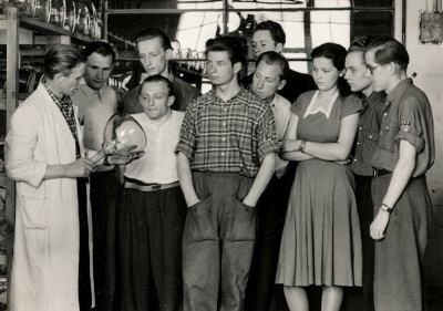 Jugendbrigade, Foto, Mai 1954