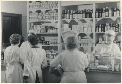 Frauen im HO, Foto 1954