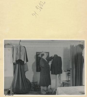 Schneiderei im WF, Foto 1954