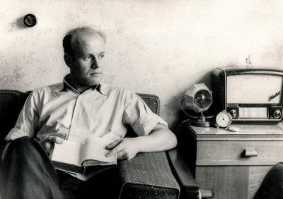 Ausstellung 5 Jahre DDR: Kollege Lenz, Foto 1954