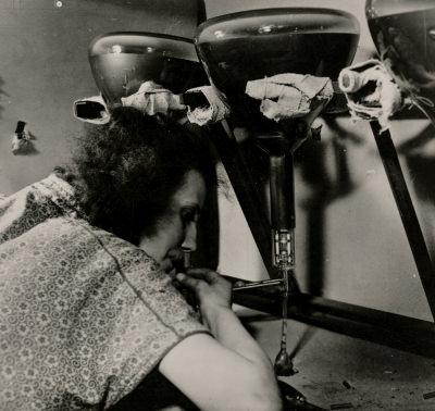 Repro Fotos der Bildröhre für Dia-Vortrag, Bild 2, Foto 1955