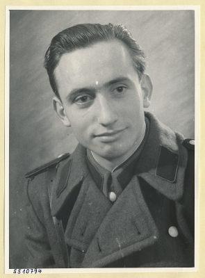 Portrait Horst Rindfleisch,, Foto 1955