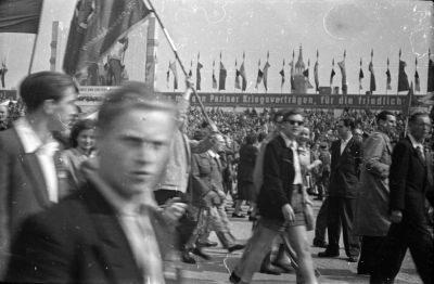 Fotostrecke 1. Mai, Bild 11, Foto 1955