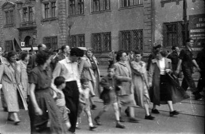 Fotostrecke 1. Mai, Bild 16, Foto 1955