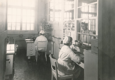 Betriebs-Ambulatorium, Foto 1955
