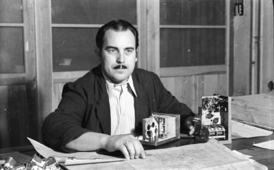 Kollege Laskowski, Gerätewerk, Foto 1955