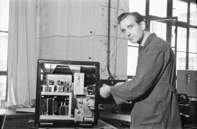 Heinz Rosenberg, Gerätewerk, Foto 1955
