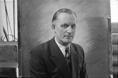 Passfoto Dr. Neidhardt, Foto 1955