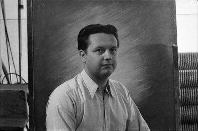 Passfoto Koll. Schneider; Foto, Oktober 1955