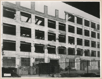 Ruine Neue Bahnhofstr., Bild 1, Foto 1956