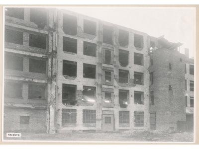 Ruine Neue Bahnhofstr., Bild 2, Foto 1956