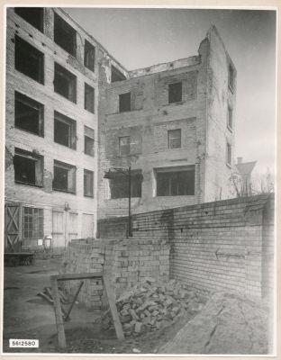 Ruine Neue Bahnhofstr., Bild 3, Foto 1956
