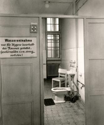 Hygieneraum - Frauen, Foto 1956