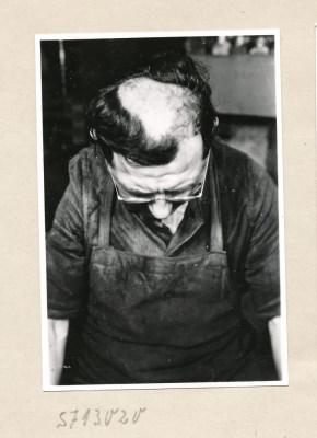 Reproserie Unfälle, Bild 1; Foto, 1957