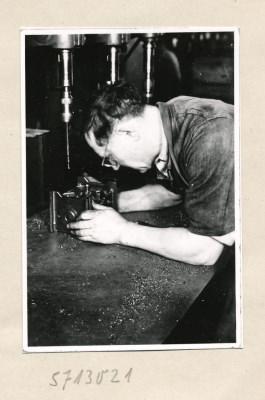 Reproserie Unfälle, Bild 2; Foto, 1957