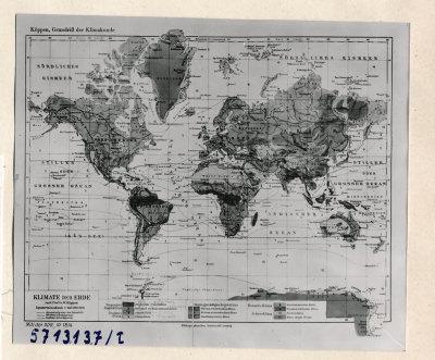 Klimakarte 1; Foto, 1957