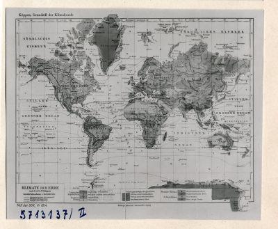 Klimakarte 2; Foto, 1957